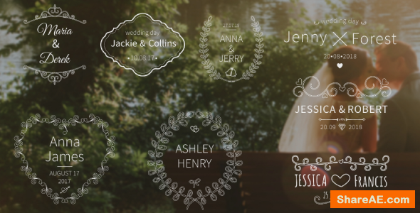Videohive Wedding Titles 19865364