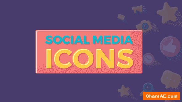 Videohive Social Media Icons 20315611