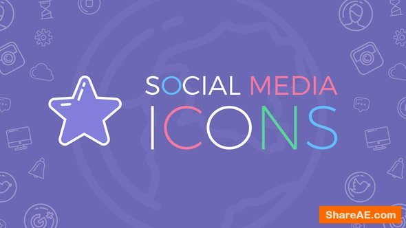 Videohive Social Media Icons 20112641