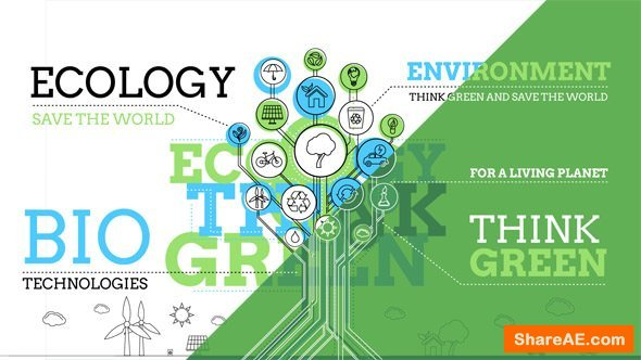 Videohive Ecology Infographics
