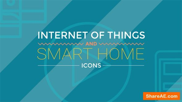 Videohive Internet Of Things and Smart Home Icons