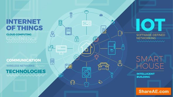Videohive Internet Of Things And Smart Home Infographics 20155930
