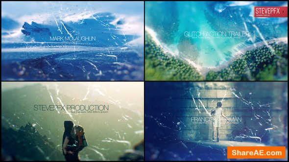 Videohive Glitch Action Trailer