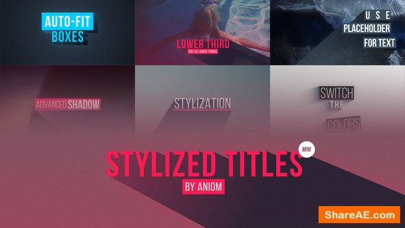 Videohive Stylized Titles