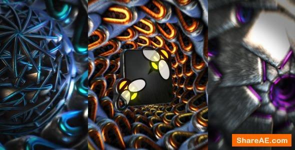Videohive Dubstep Glitch 3D Logo