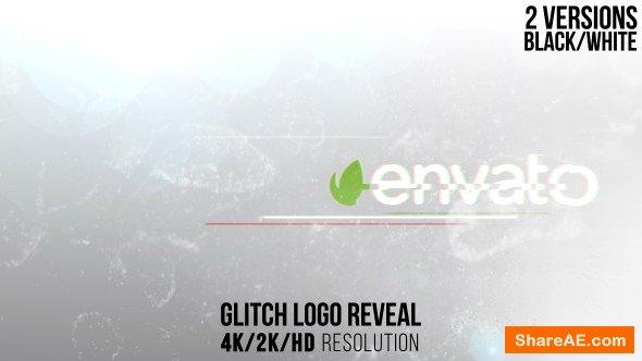 Videohive Glitch Logo Reveal 14969091