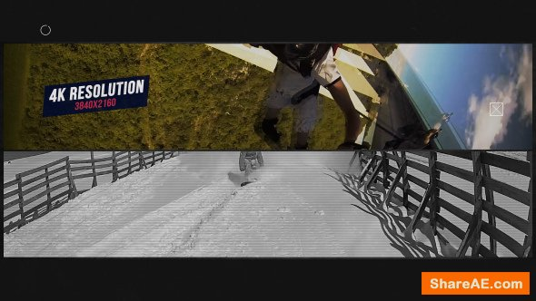 Videohive Glitch Sport Opener