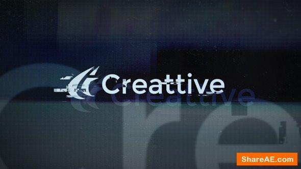 Videohive Heavy Glitch Distortion Logo