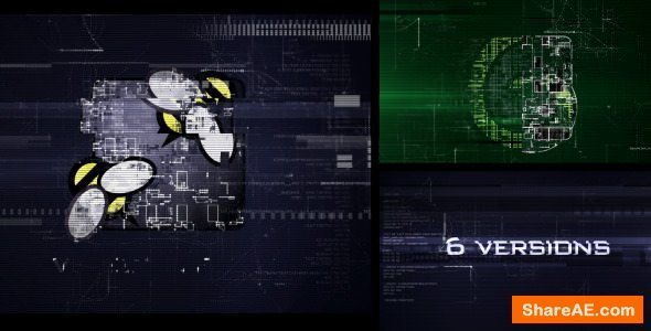 Videohive Hi-Tech Glitch
