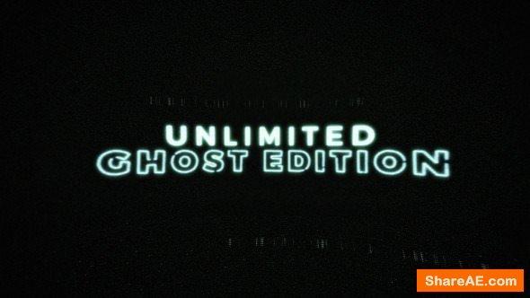 Videohive Glitch Ghost