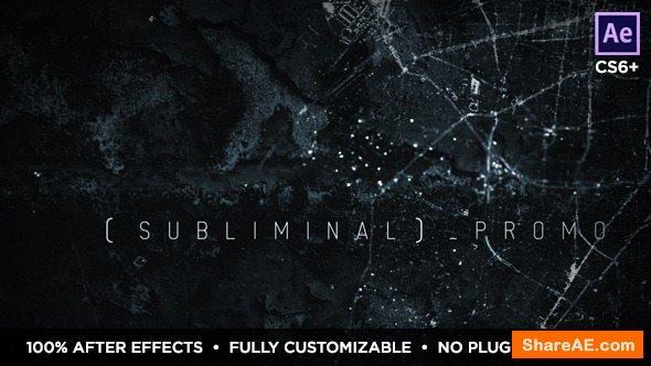 Videohive Subliminal Slideshow