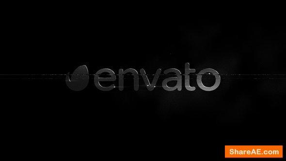 Videohive  B&W - Glitch Logo Reveal