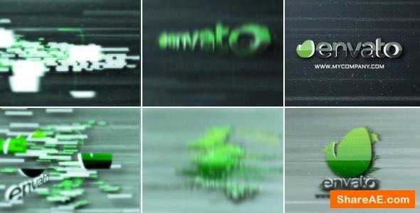 Videohive Glitch Quick Logo