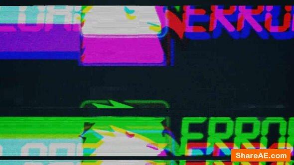 Videohive Glitch Logo 8609982