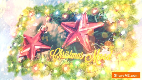 Videohive Christmas Mood Lights