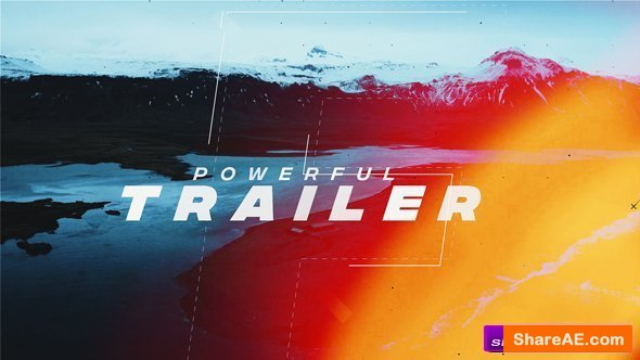 Videohive Powerful Trailer