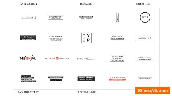 Videohive Typo
