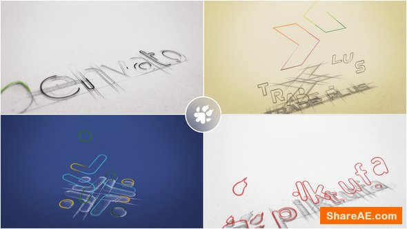 Videohive Sketch Logo Build