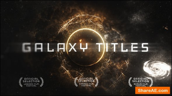 Videohive Epic Galaxy Titles