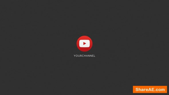 Videohive Youtube Logo Reveal