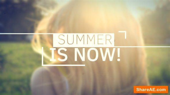 Videohive Summer Slideshow 16533588