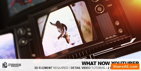 Videohive What Now Youtuber