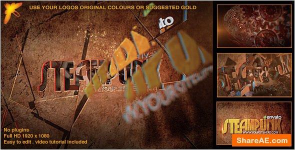 Videohive Steampunk Logo