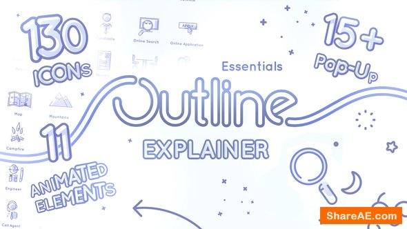Videohive Outline Explainer Essentials