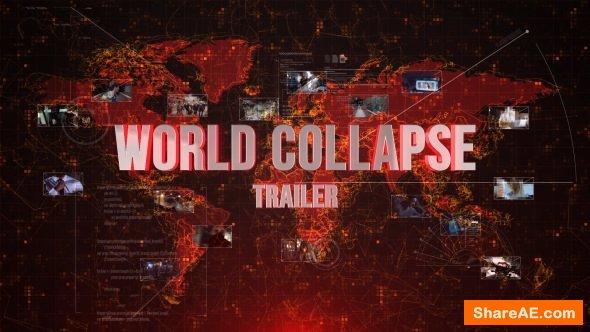 Videohive World Collapse Trailer