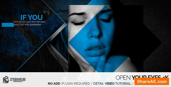 Videohive Open Your Eyes