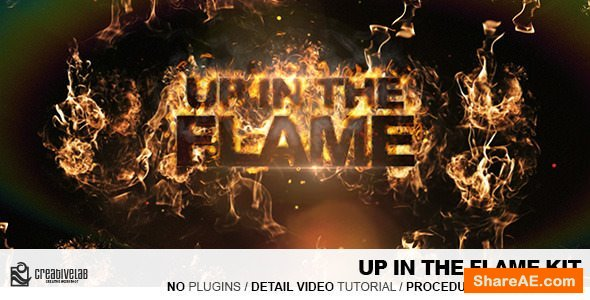 Videohive Up In The Flames Kit