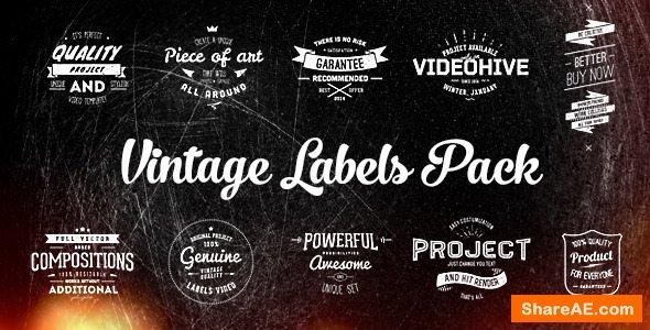 Videohive Vintage Labels