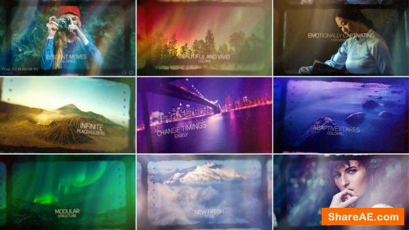Videohive Stillness - Atmospheric Inspirational Slideshow