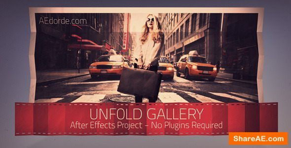 Videohive Unfold Gallery