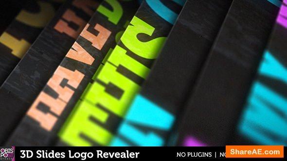 Videohive 3D Slides Logo Revealer