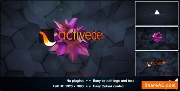 Videohive Retro Glitch Logo