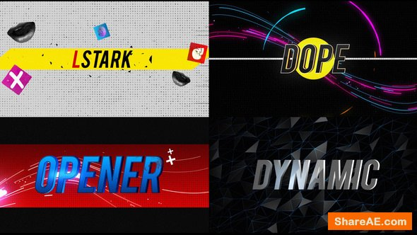 Videohive Abstract Fast Opener