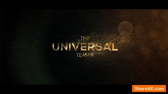 Videohive Universal Cinematic Teaser