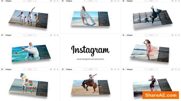 Videohive 3D Photo Pop Out - Instagram Story