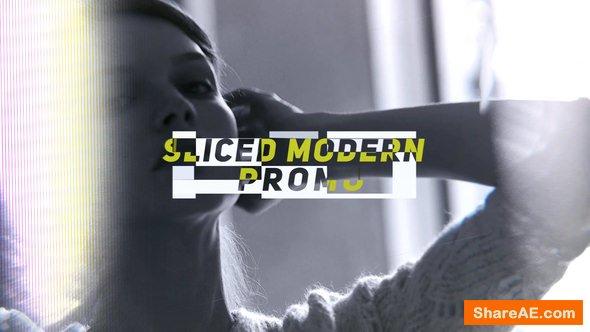 Videohive Sliced Modern Promo