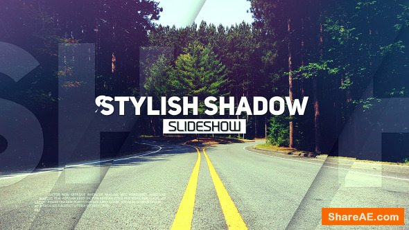 Videohive Stylish Shadow Slideshow
