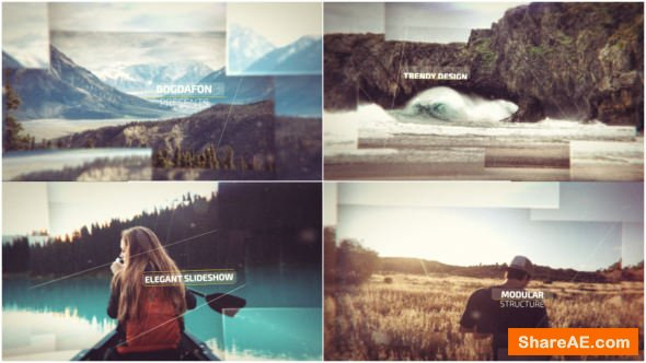 Videohive Cinematic Slideshow 18177378