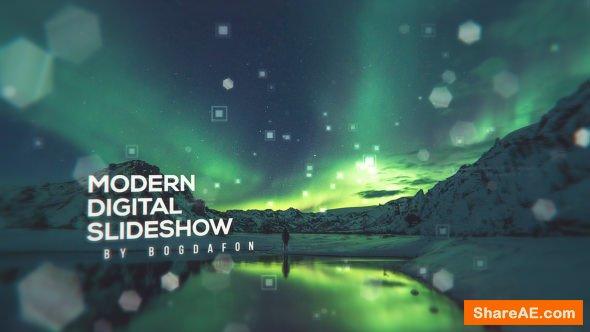 Videohive Modern Digital Parallax Slideshow | Opener