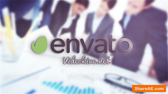 Videohive Simple Logo Photo Reveal