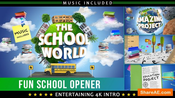 Videohive School Education Opener