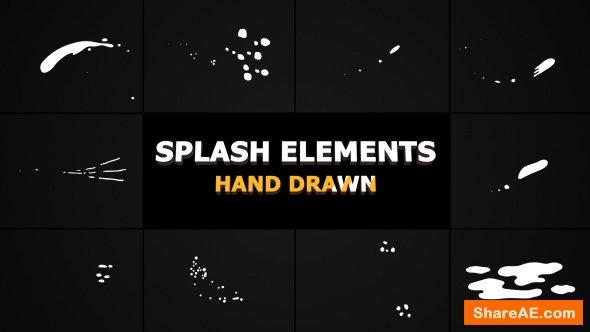 Videohive Splash Animated Elements