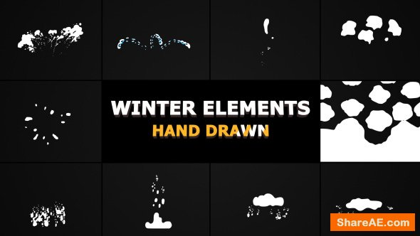 Videohive Flash FX WINTER Elements