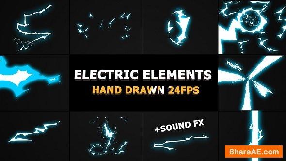 Videohive Dynamic ELECTRIC Elements