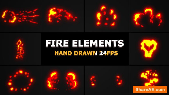 Videohive Fire Elements Pack