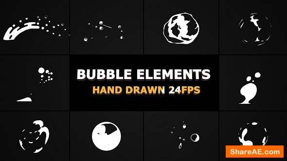 Videohive Flash FX BUBBLE Elements